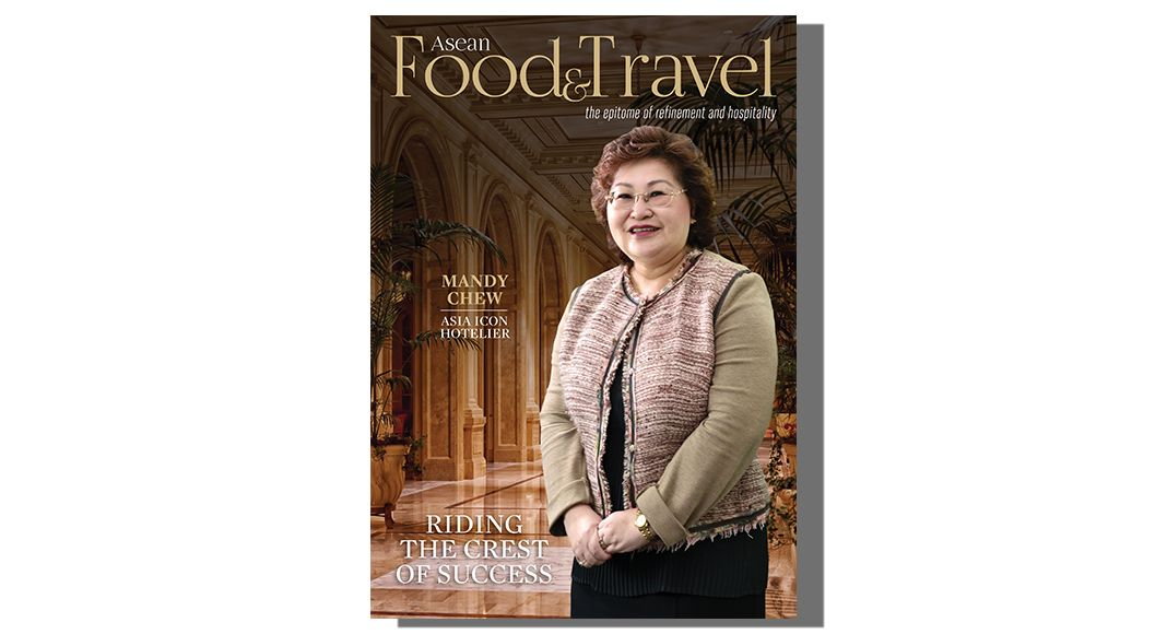 MANDY CHEW, ASIA ICON HOTELIER-RIDING THE CREST OF SUCCESS